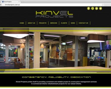 Kinvel Projects Website Design & Build