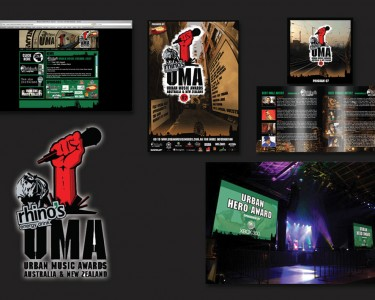 Urban Music Awards Art Direction and Design